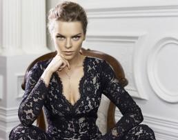 A beautiful fashion advertising image for Liberte jewellery taken by Australian fashion photographer Peter Rosetzky